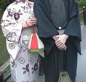 一年前の京都
